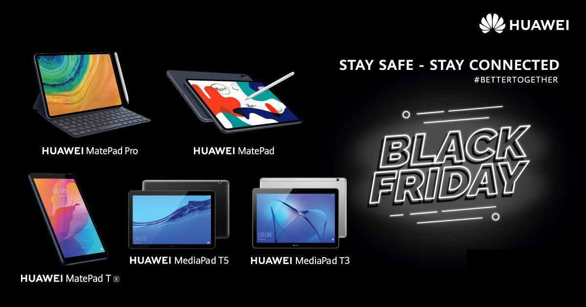 Black Friday 2020 χωρίς Huawei και Work From Home λύσεις γίνεται; Δε γίνεται! - Advertorial
